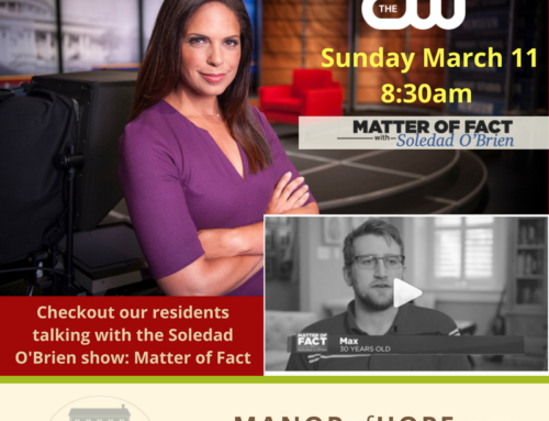 "Soledad O'Brien's show ""Matter of Fact"" talks to Manor of Hope Residents"