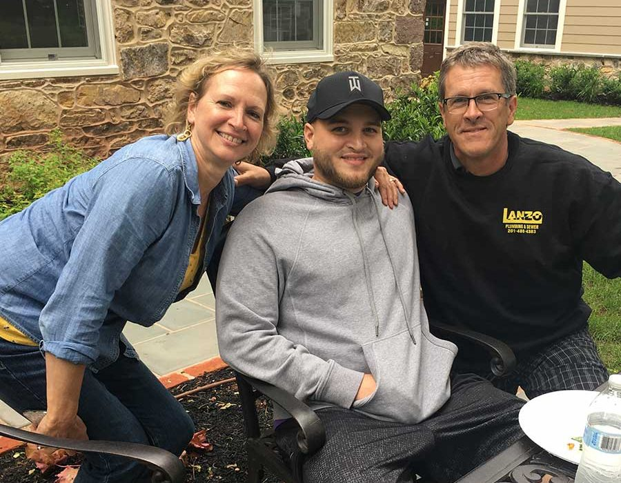 elliot and his parents