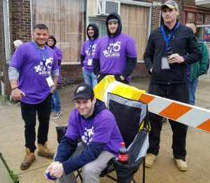 manor of Hope guys at the phoenixville dogwood parade