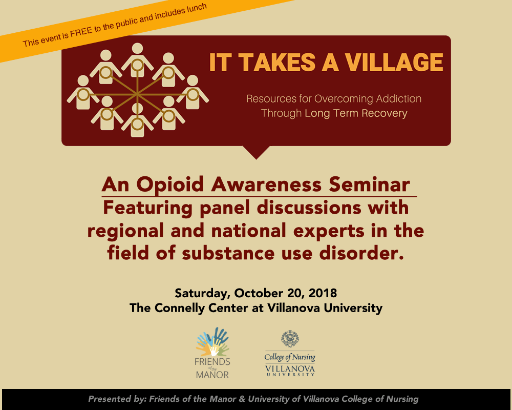 opioid seminar villanova university