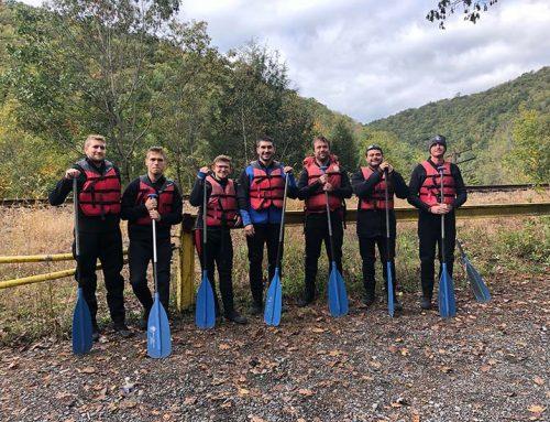 The Manor of Hope Guys go White Water Rafting