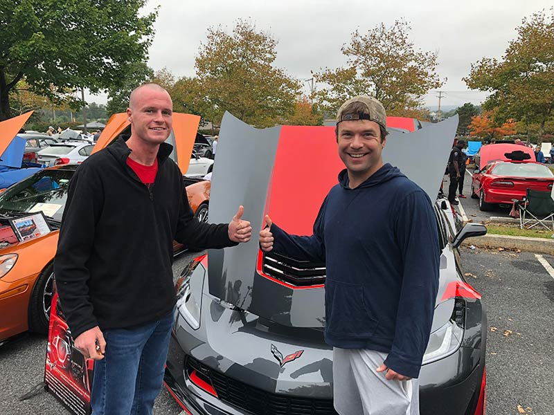 manor of hope guys at car show