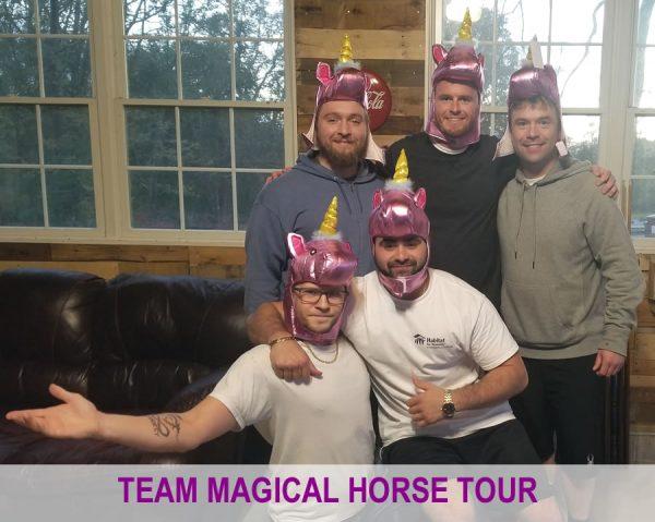 team magical horse tour