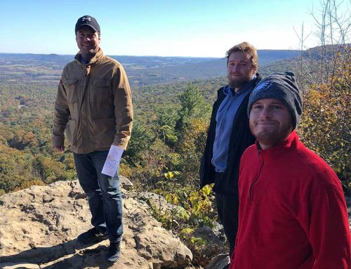 The Guys go Hiking at Hawk Mountain