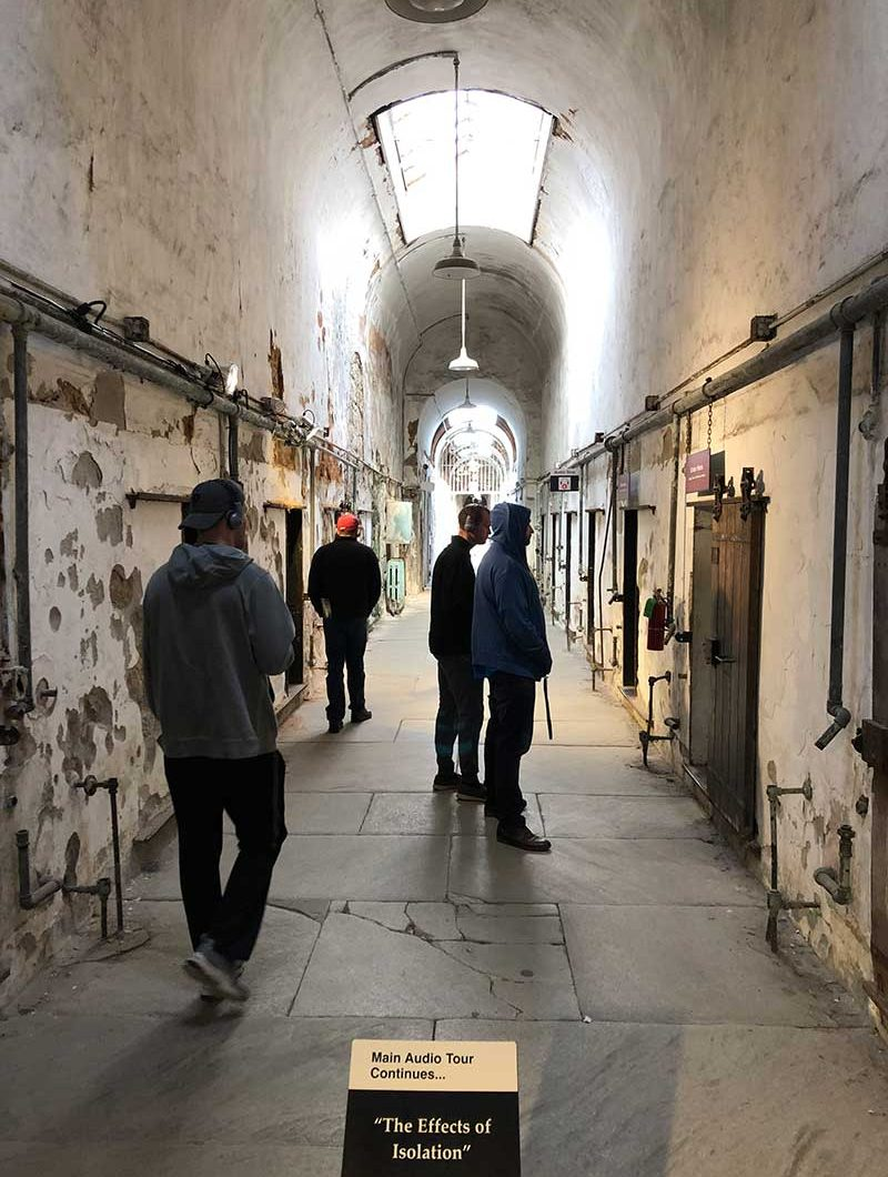 Eastern State Penitentiary audio tour