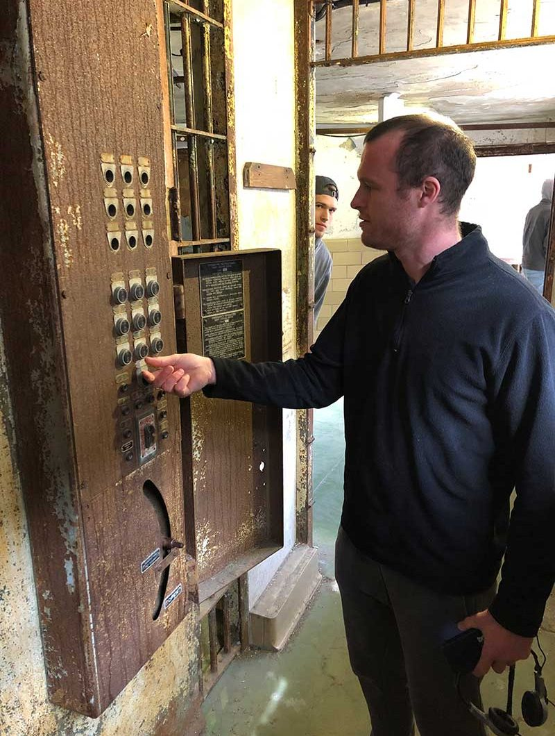 Eastern State Penitentiary intercom system