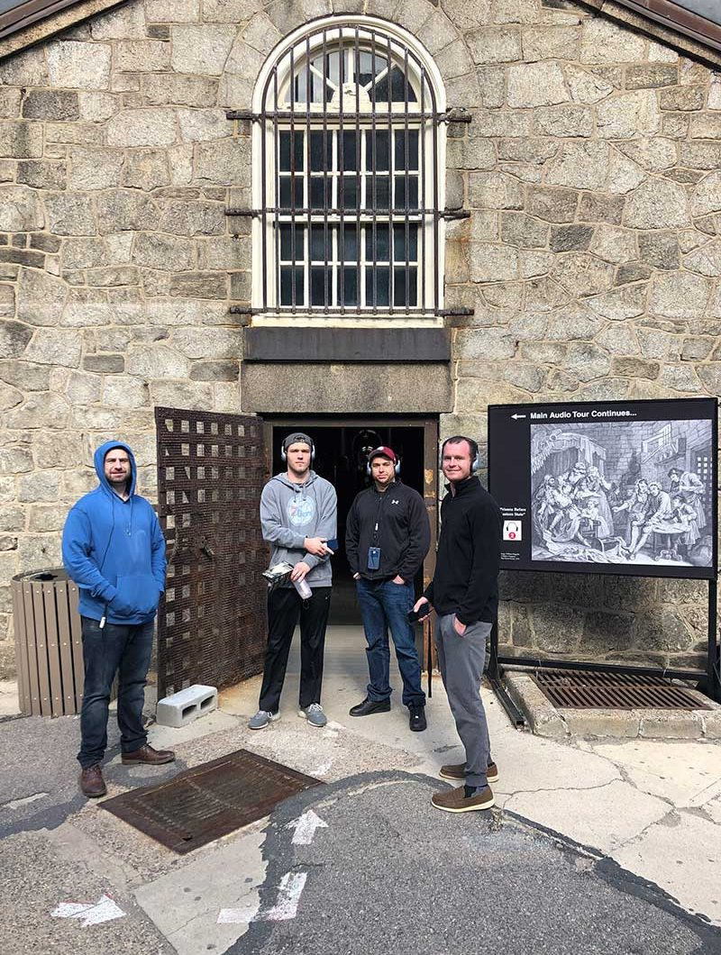 MOH group at Eastern State Penitentiary