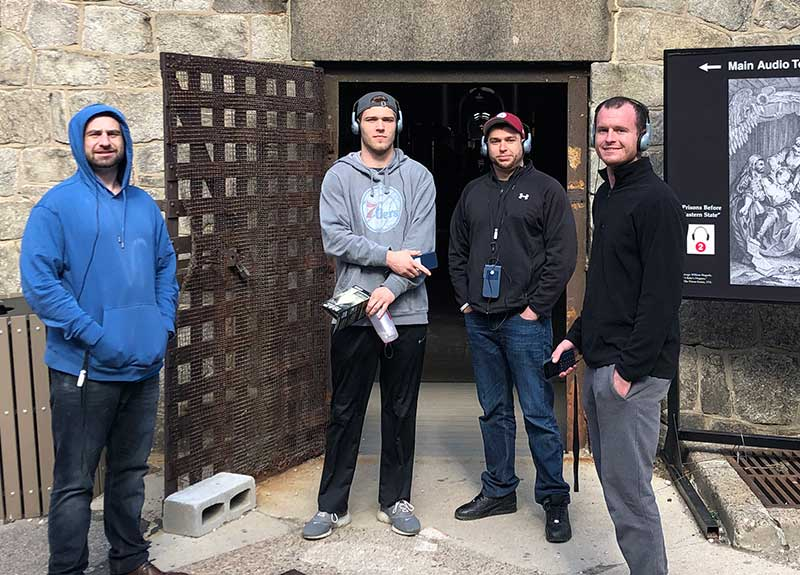guys visit eastern state penitentiary