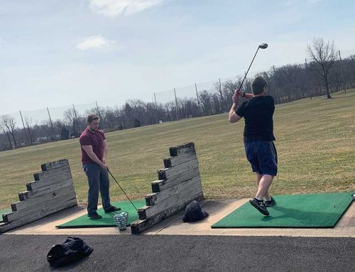 Team MOH go to the Driving Range