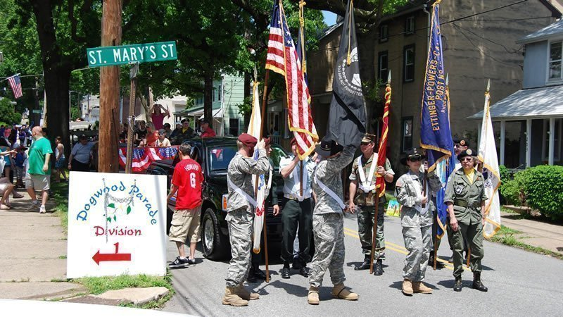 phoenixville jaycees dogwood parade