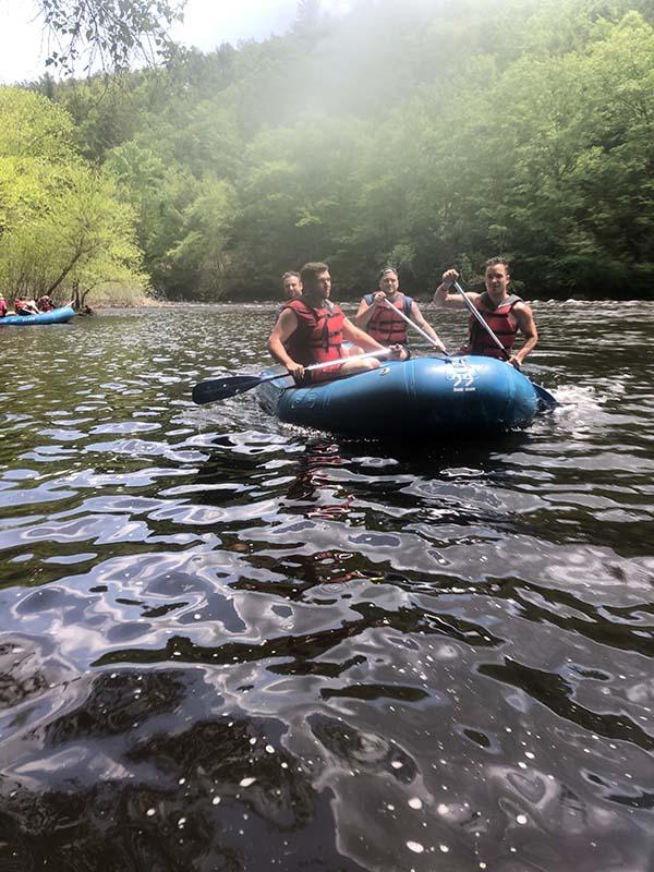 white water rafting - manor of hope