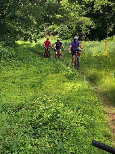 biking in valley forge