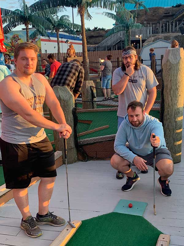 mini golf in june
