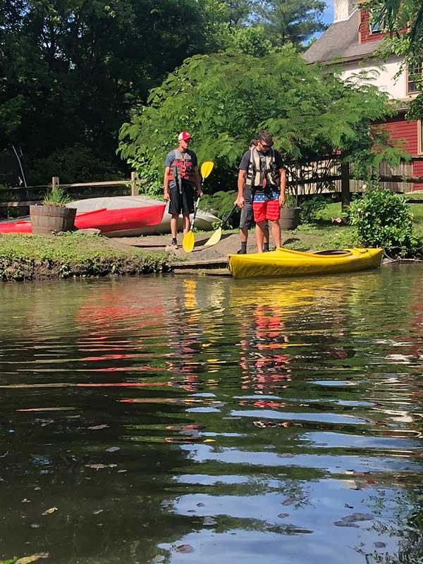 ready to canoe