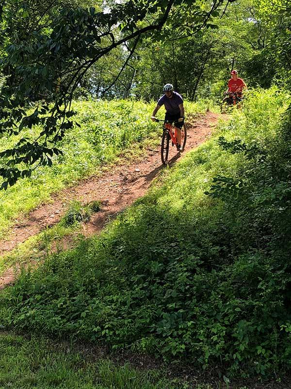 rough terrain biking