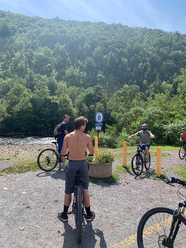 jim thorpe bike trip