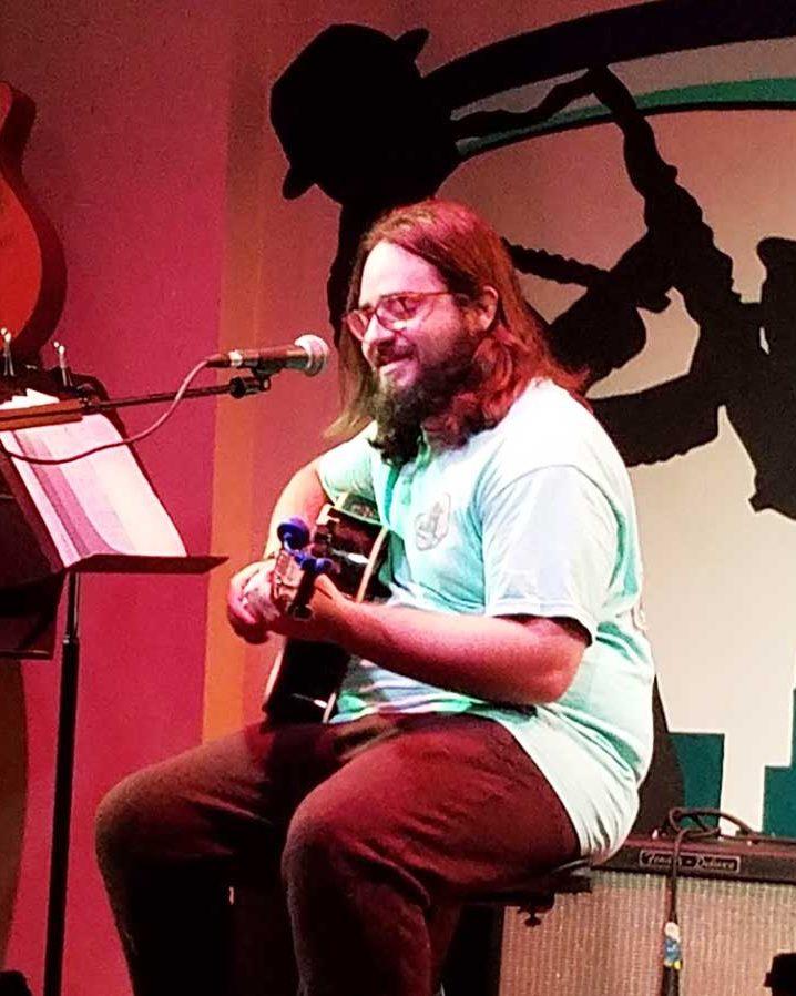 peter on guitar