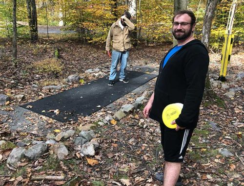 Manor of Hope Guys Play Disc Golf at French Creek State Park
