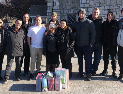 Manor of Hope Guys Adopt a Family for Christmas