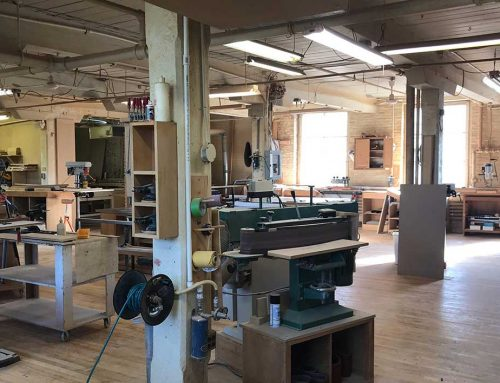 Manor of Hope Partners With First Avenue Woodworking to Create an Educational Space