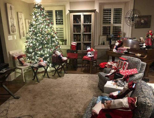 Christmas Morning 2019 at the Manor of Hope