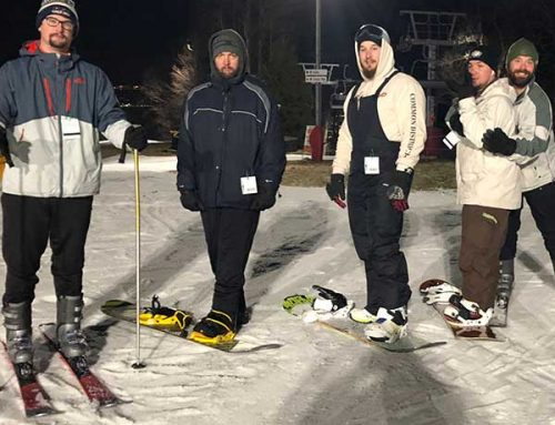 The Manor of Hope Guys Hit the Slopes at Bear Creek Mountain