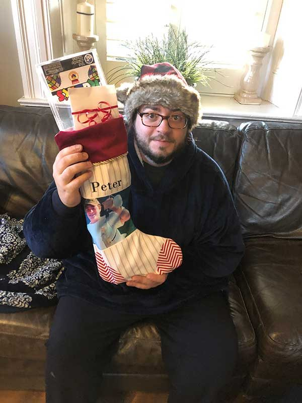 peter's stocking