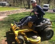 spring cleanup at manor of hope phoenixville pa